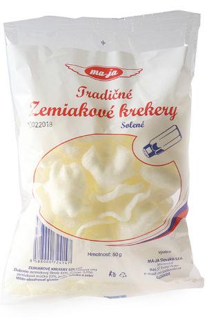 Zemiakové krekery – solené